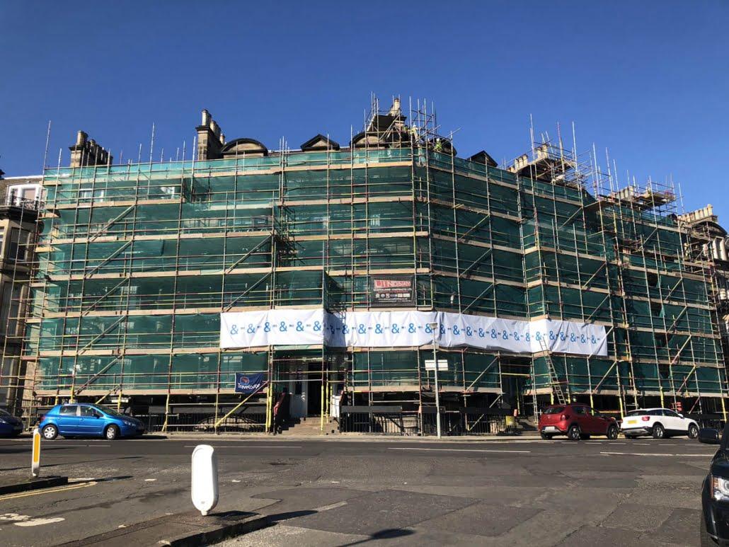 Scaffolding in Edinburgh